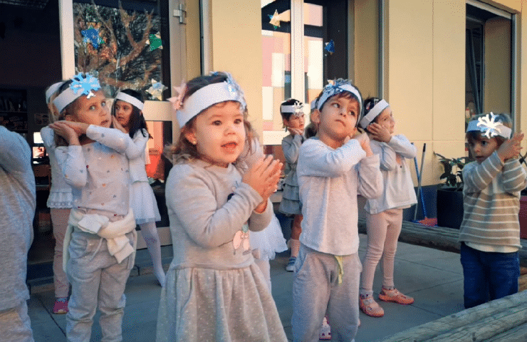 Nikolaus en el Kindergarten 2020