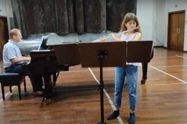 Martina Lanis Pesutic, 3. Preis beim Bundeswettbewerb Jugend musiziert